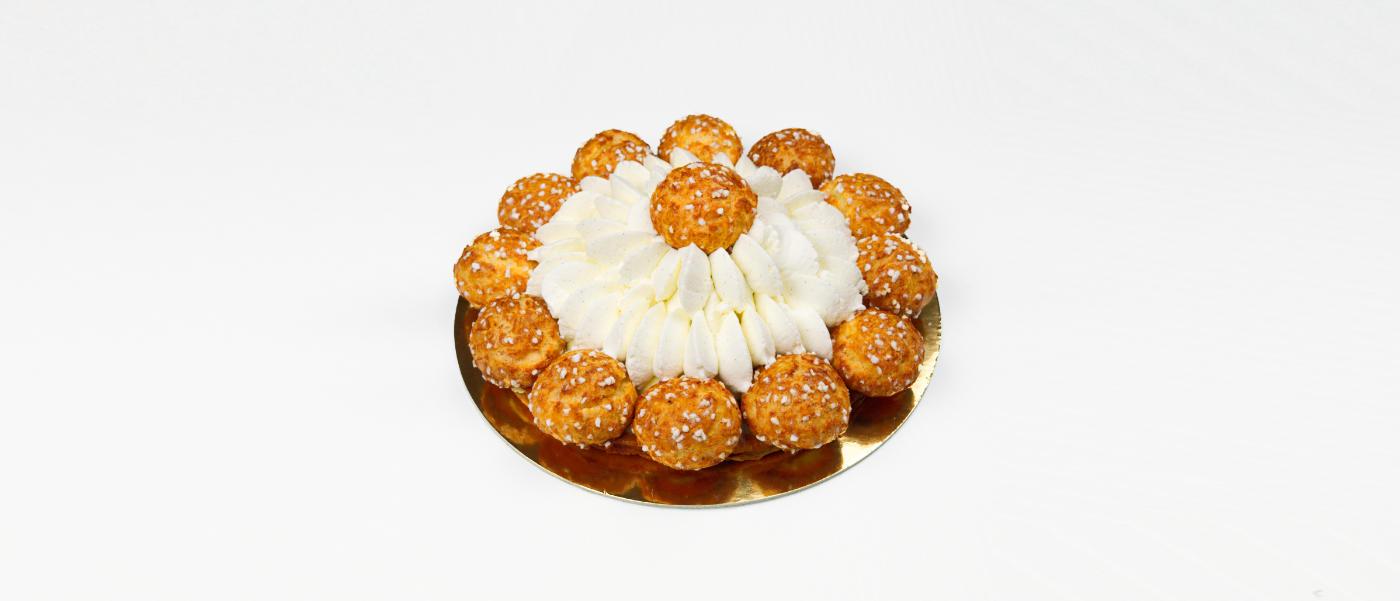 Chouquette Saint Honoré Cake